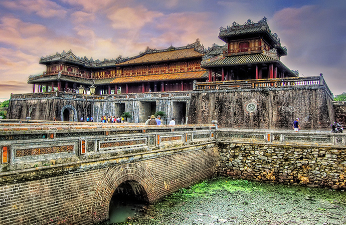 Hue, The Imperial City – Chan May Pier